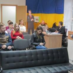 Місцеве самоврядування для молодих парламентарів. 20.04.18.