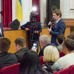 Зустріч з в.о. голови Держекоінспекції І.Яковлєвим