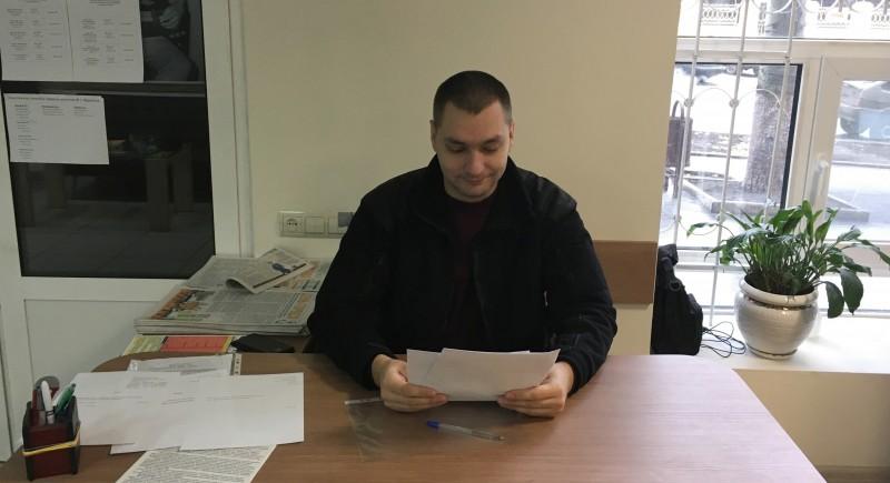 Роман Амелякин отчитался о своей депутатской деятельности