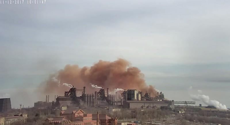 На одном из заводов Мариуполя сегодня произошел
