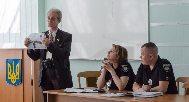 Полиция и громада обсудили безопасность дорожного движения