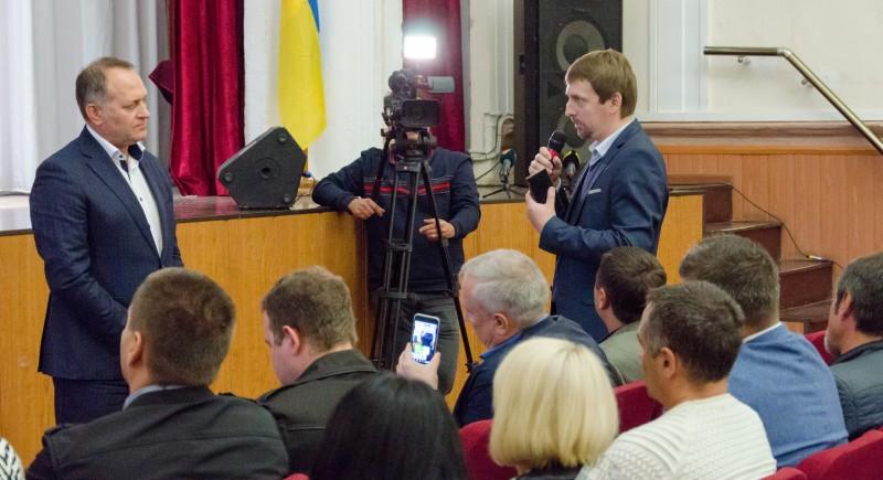 Итоги встречи громады города с и.о. главы Госэкоинспекции