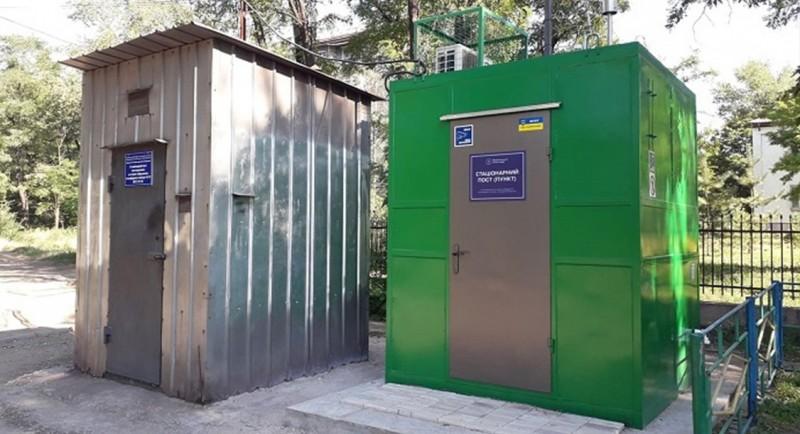 У Маріуполі з'явився сучасний пост моніторингу повітря