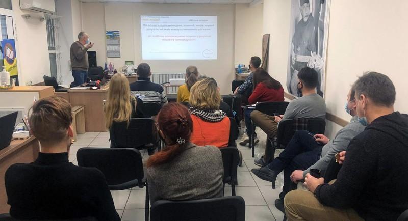 ВЦГІ відбувся семінар для новообраних депутатів міськради